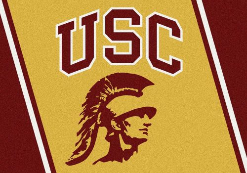 "USC Trojans 3'10""x 5'4"" Team Spirit Area Rug"