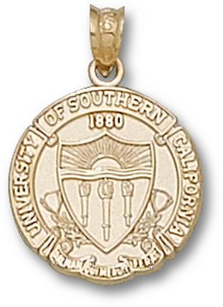 "USC Trojans ""Seal"" Pendant - 10KT Gold Jewelry"