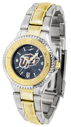 UTEP Texas (El Paso) Miners Competitor AnoChrome Ladies Watch with Two-Tone Band