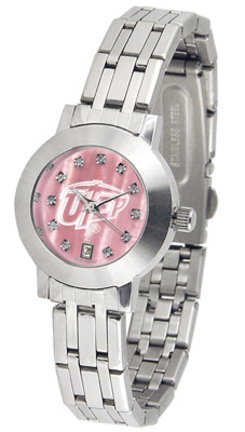UTEP Texas (El Paso) Miners Dynasty Ladies Watch with Mother of Pearl Dial