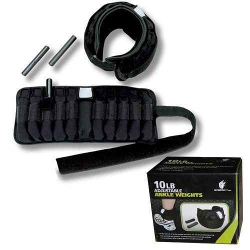 Ultimately Fit UL-100-AW10 10 lbs. Adjustable Ankle Weights