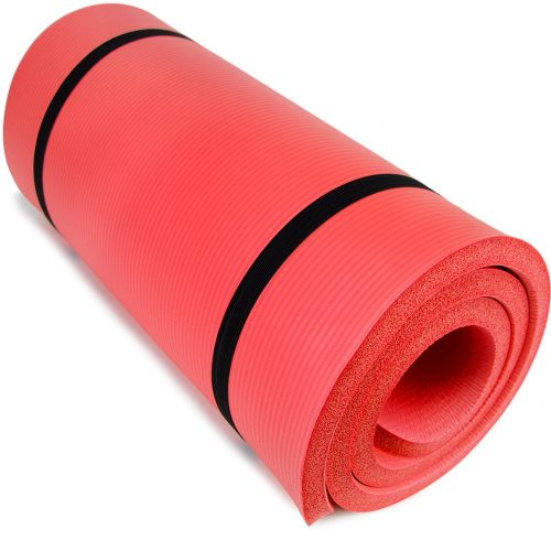 Ultra Thick 1 in. Yoga Cloud Red
