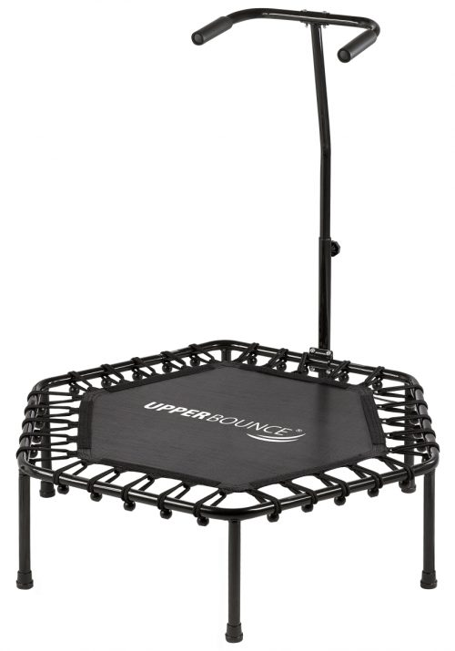 Upper Bounce SK-HX40 40 in. Upper Bounce Hexagonal Fitness Mini-Trampoline
