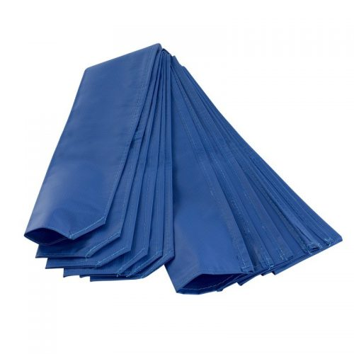 Upper Bounce UBFPS-6 Trampoline Pole Sleeve Protector Blue - Set of 6