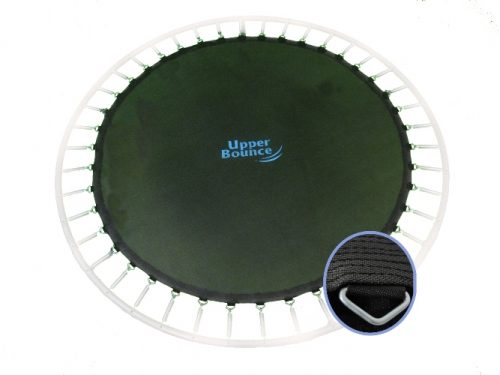 Upper Bounce UBMAT-12-80-5.5 Upper Bounce 12 ft. Trampoline Jumping Mat fits for 12 FT. Round Frames with 80 V-Rings for 5.5 in. Springs - springs not included