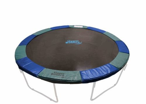 Upper Bounce UBPAD-S-12-BG Upper Bounce 12 ft. Super Trampoline Safety Pad - Spring Cover - Fits for 12 FT. Round Trampoline Frames. 10 in. wide - Blue-Green