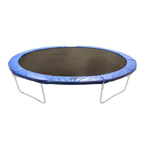 Upper Bounce UBPADO-1614 16 x 14 ft. Super Trampoline Safety Pad Fits for Oval Frames - Blue