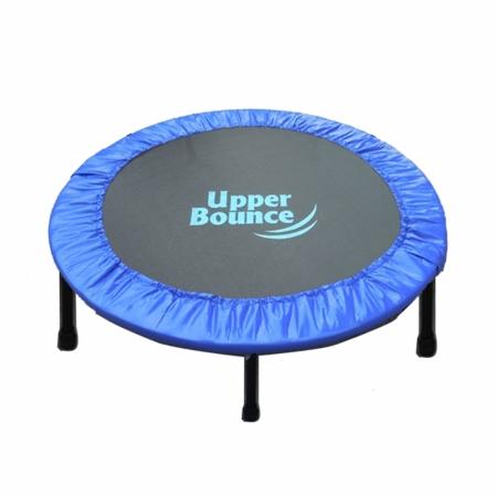Upper Bounce UBSF01-44 Upper Bounce 44 Mini Foldable Rebounder Fitness Trampoline