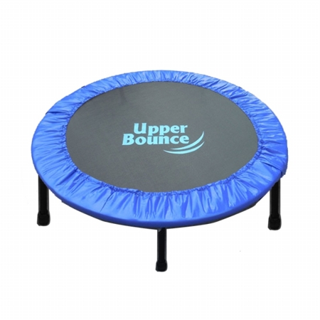 Upper Bounce UBSF014F-40 Upper Bounce 40 Two-Way Foldable Rebounder Trampoline with Carry-on Bag Included