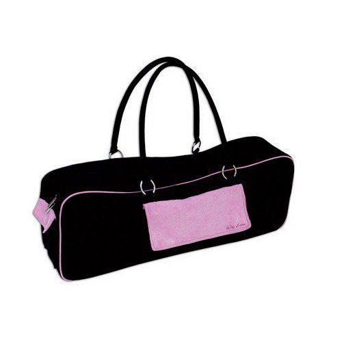 Urban Yoga Bag - Black-Pink