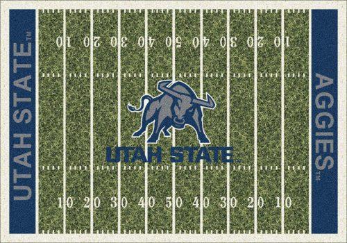 "Utah State Aggies 3' 10"" x 5' 4"" Home Field Area Rug"