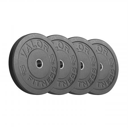 Valor Fitness BPH-10 HT Bumper Plate 10 lbs - Set of 4