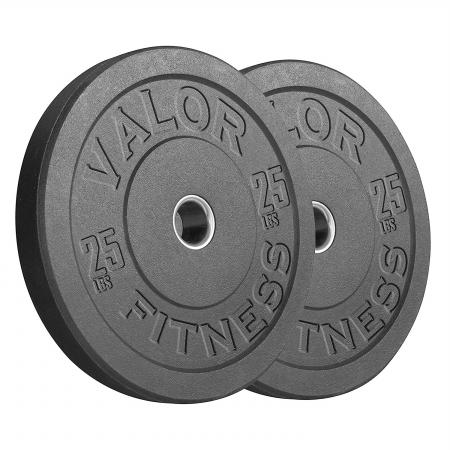 Valor Fitness BPH-25 HT Bumper Plate 25 lbs
