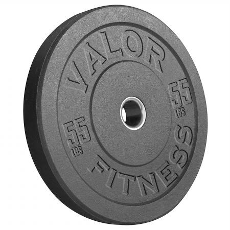 Valor Fitness BPH-55 HT Bumper Plate 55 lbs