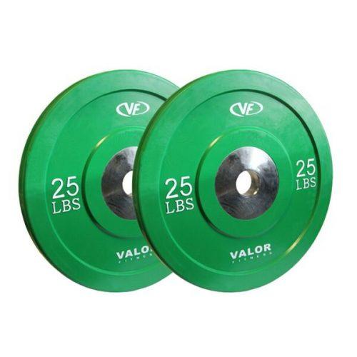 Valor Fitness BPX-25 25 lbs. Bumper Plate