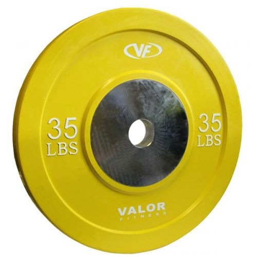 Valor Fitness BPX-35 35 lbs. Bumper Plate