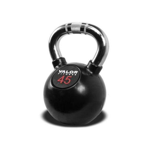 Valor Fitness CKB-45 Chrome Kettlebell - 45 lbs.