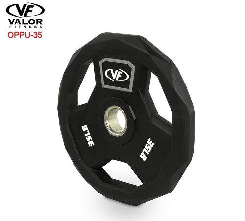 Valor Fitness OPPU-35 Polyurethane Olympic Plate 35 lbs