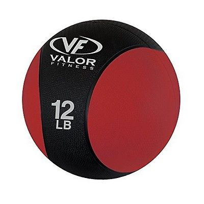 Valor Fitness RXM-12 Medicine Ball 12-Pound