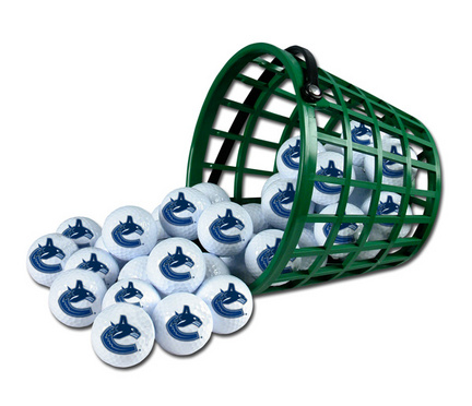 Vancouver Canucks Golf Ball Bucket (36 Balls)