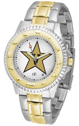Vanderbilt Commodores Competitor Two Tone Watch