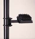 Vertical Post Mount with Brush for Alternative Spike Shoes