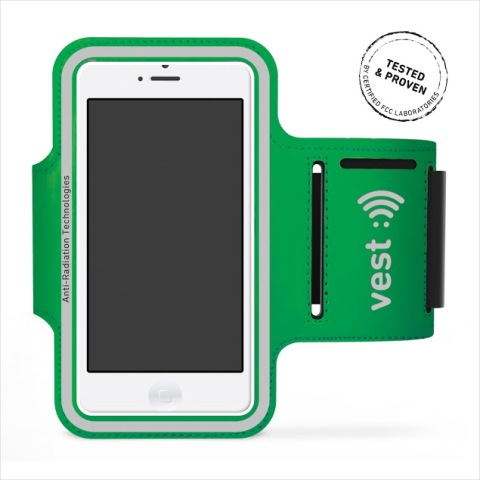 Vest Anti-Radiation Armband Up to 5 in. - Green