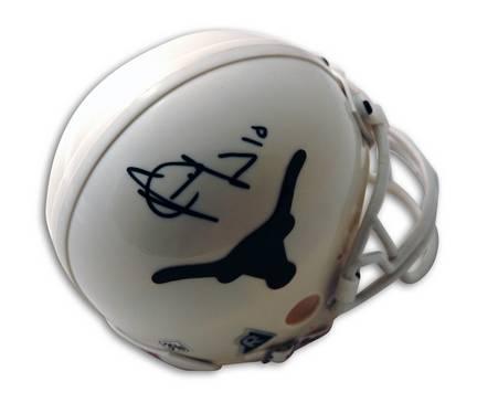 Vince Young Texas Longhorns Autographed Mini Helmet
