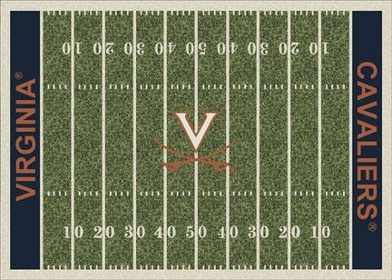 "Virginia Cavaliers 3' 10"" x 5' 4"" Home Field Area Rug"