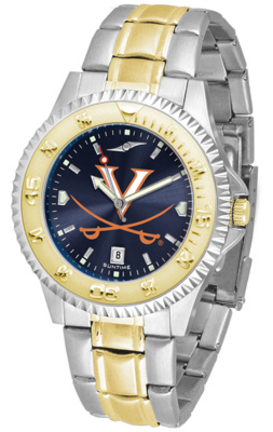 Virginia Cavaliers Competitor AnoChrome Two Tone Watch