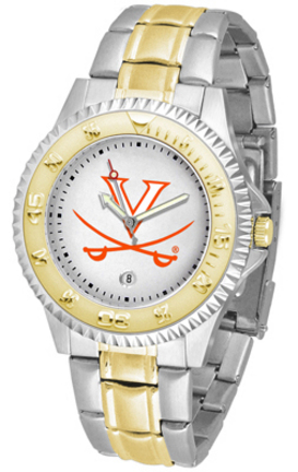 Virginia Cavaliers Competitor Two Tone Watch