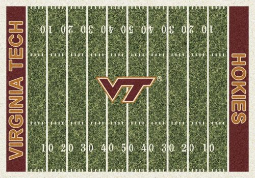 "Virginia Tech Hokies 3' 10"" x 5' 4"" Home Field Area Rug"