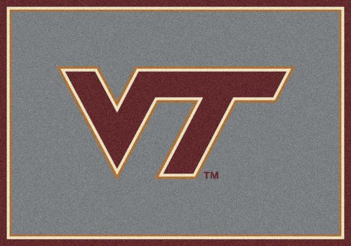 "Virginia Tech Hokies ""VT"" 3'10""x 5'4"" Team Spirit Area Rug"