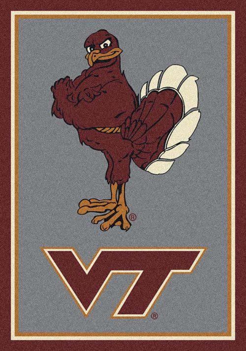 "Virginia Tech Hokies ""Vertical"" 3'10""x 5'4"" Team Spirit Area Rug"