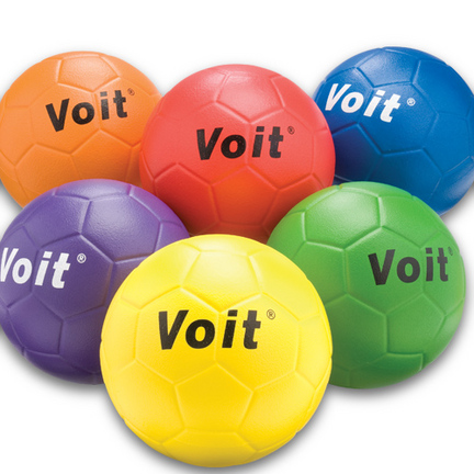 Voit Coated Foam Size 4 Soccer Ball (Set of 6)