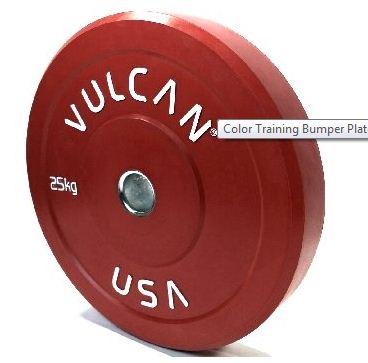 Vulcan TRAIN20-3-WS 20 kg Color Training Bumper Plates Pair