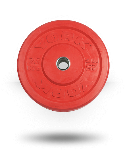 Vulcan TRAIN25-4-WS 25 kg Color Training Bumper Plates Pair
