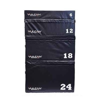 Vulcan VSOFTPLY-01-WS 6 in. Soft Impact Plyometric Box