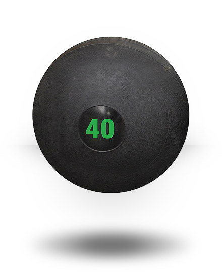 Vulcan VULCSLAM40-WS 40 lbs Slam Ball - Black