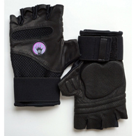 WAGS WG404BK Fusion Workout Gloves-Large
