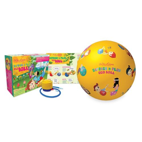 Wai Lana Productions 603 Little Yogis Stretch and Play Eco Ball