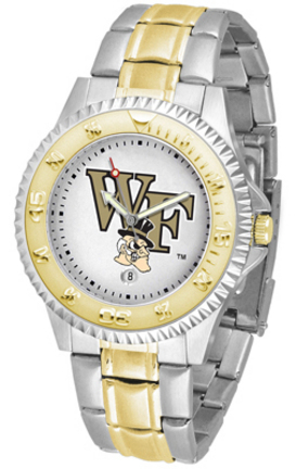 Wake Forest Demon Deacons Competitor Two Tone Watch