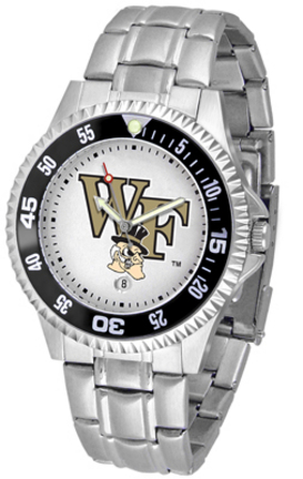 Wake Forest Demon Deacons Competitor Watch with a Metal Band