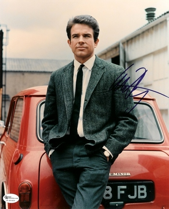 "Warren Beatty Autographed 8"" x 10"" Photograph (Unframed)"