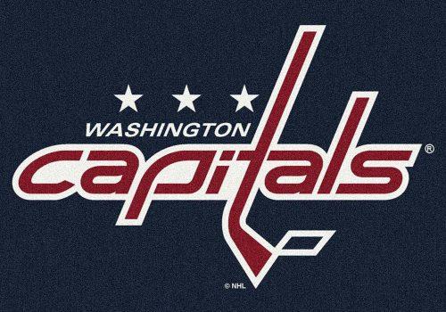 "Washington Capitals 3' 10"" x 5' 4"" Team Spirit Area Rug"