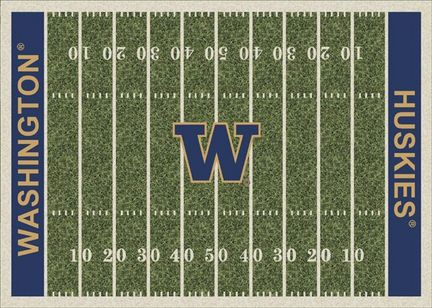 "Washington Huskies 3' 10"" x 5' 4"" Home Field Area Rug"