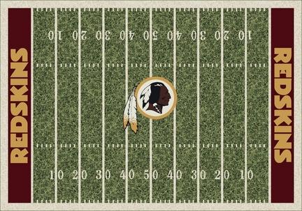 """Washington Redskins 3' 10"""" x 5' 4"""" Home Field Area Rug"""