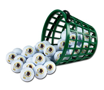 Washington Redskins Golf Ball Bucket (36 Balls)