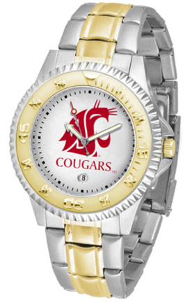 Washington State Cougars Competitor Two Tone Watch