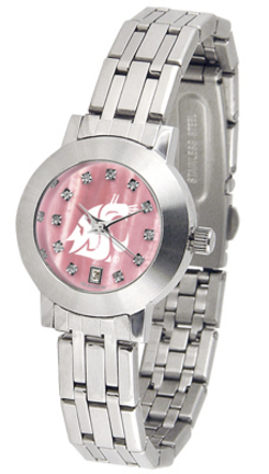 Washington State Cougars Dynasty Ladies Watch with Mother of Pearl Dial